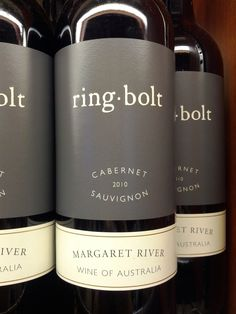 ring-bolt.  A great Australian red.
