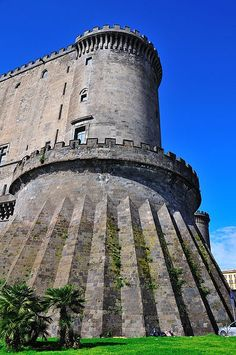 Castel Nuovo, Naples, southern Italy