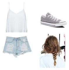 Summer by malineiksa on Polyvore featuring polyvore, fashion, style, Alice + Olivia and Converse