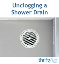This is a guide about unclogging a shower drain. Shower drains routinely become…