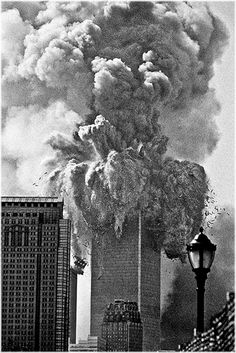 September 11th 2001 10:28 AM.  This is what I saw.  This is when I said words I will regret for the rest of my life.  Forgive me God.  I thought I was watching a movie.