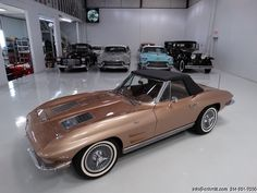 1963 CHEVROLET CORVETTE ROADSTER ONE FAMILY OWNED SINCE NEW! BEAUTIFULLY RESTORED! MATCHING #'S L76 327 CUBIC-INCH/340-HORSEPOWER – ONE OF ONLY 6,978! EXTREMELY LOW PRODUCTION AND HIGHLY DESIRABLE SADDLE TAN WITH BLACK TOP! BEAUTIFUL TAN LEATHER...