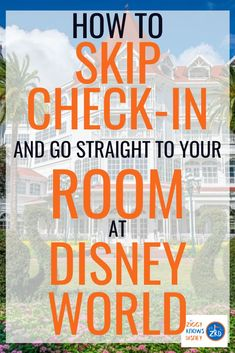 Do you want to skip the check-in process?  If you are looking to save time and go straight to your resort hotel room, the Disney World Online Check-In system is for you! It's super easy to use and will start your Walt Disney World vacation off in the right way.  Find all the details in this post.  #disney #disneyplanning #disneyvacations #disneytravel #disneyworld Disney World Vacation Planning, Disney World Hotels, Disney Vacation Club, Walt Disney World Vacations, Disney Planning, Disney World Resorts, Disney Travel, Trip Planning, Best Disney Park