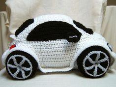 car in crochet