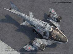 EW-LA / III aircraft by AliSheikhanGo on DeviantArt
