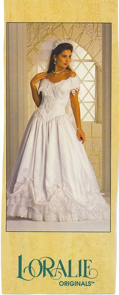 1980s Wedding Dress, Wedding Gowns, Vintage Weddings, Wedding Styles, Marie, Bridal, Formal Dresses, Fashion, Gowns