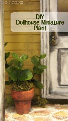 DIY Dollhouse Miniature Plant