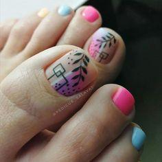 Pedicure Nails, Mani Pedi, Manicure, Pedicure Designs, Toe Nail Designs, Bella Nails, Magic Nails, Feet Nails, Trendy Jewelry