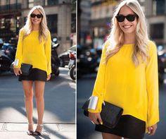 amarelo #streetstyle