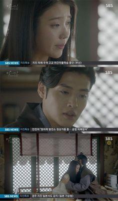 """[Spoiler] """"Scarlet Heart: Ryeo"""" IU cries at the sight of Kang Ha-neul"""