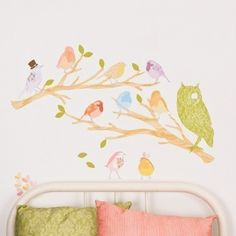 Fabric Bird Decals