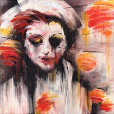 "Saatchi Online Artist Tatiana Ivchenkova; Painting, ""Through the Fluid Lights"" #art"