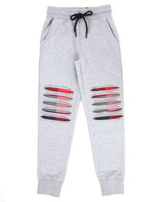 Find RIP & TEAR JOGGER W/ PLAID DETAIL (8-20) Boys Bottoms from Arcade Styles & more at DrJays. on Drjays.com