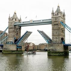 This is the Tower Bridge not the London Bridge as it is often mistaken for.  #london #towerbridge #travel #traveling #instatravel #igtravel