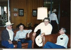 Rest in Peace Mr McEntire.   I took this picture during Cheyenne Frontier days..1980's era at Little America in Cheyenne Wy. These men were all true cowboys and I am honored to have met them.  Very sad to hear the news this past week..October 2014. Hugs to the McEntire family Jackie, Reba, Suzie and Pake.
