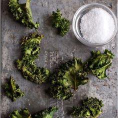 Seasoned Kale Chips Recipe HealthyAperture.com