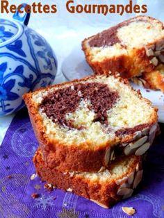Cake marbré