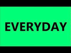 Everyday I'm Shuffling - YouTube (some lyrics, not video; edited - ok for kiddos)