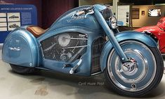 His name is Tamás Jakus. He is an artist, illustrator and designer from Hungary. That you like or not theme bikes, you must admit that this concept Harley-Davidson motorcycle is quite interesting and successful at translating on a 2-wheeler the pre-World War II spirit and streamlining of a 1936 Bugatti 57SC Atlantic. Atlantico Concept Motorcycle […]