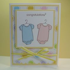 stampin' up first birthday cards | Babies & Kids - Cards : Barb's Simply Stampin' Blog