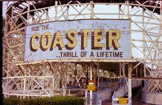 Roller Coaster, Marshall Hall Park, Maryland.