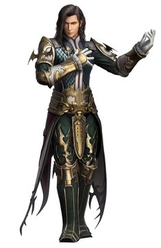 View an image titled 'Vayne Carudas Solidor Art' in our Dissidia Final Fantasy NT art gallery featuring official character designs, concept art, and promo pictures. Final Fantasy Xii, Final Fantasy Characters, Fantasy Male, Fantasy Warrior, Fantasy Rpg, Dnd Characters, Fantasy Artwork, Fantasy Character Design, Character Creation