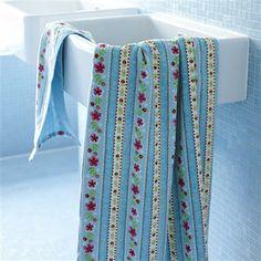 PiP Studio Cute Ribbon Hand Towel, Blue