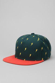 Micro Pattern Snapback Hat