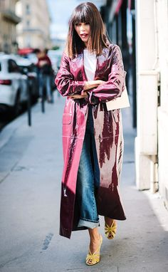 33 Chic Street Style Looks From Paris Fashion Week via @WhoWhatWearUK