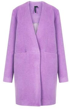 radiant orchid color of the year: Topshop Purple Wool Coat by Boutique