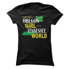 Oregon Girl in Tennessee T Shirt, Hoodie, Sweatshirt