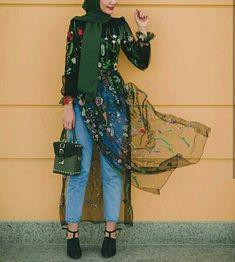 Modern Hijab Fashion, Muslim Fashion, Modest Fashion, Girl Fashion, Fashion Outfits, Hijab Style, Hijab Chic, Modest Dresses, Modest Outfits