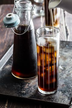 Iced Coffee Cocktail | www.jellytoastblog.com | #coffee #cocktail #summer