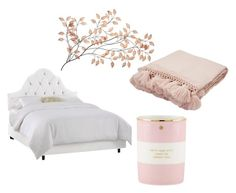 """""""Pink Girl Bedroom"""" by juliaschwartz202 on Polyvore featuring interior, interiors, interior design, home, home decor, interior decorating, Jaipur, Kate Spade and bedroom"""