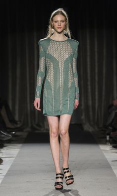 Perfect day and night dress. Elah green lace dress by DAGMAR Green Lace Dresses, Scandinavian Fashion, Fall Winter, Autumn, Night, Sweaters, Collection, Fall, Sweater