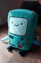 """Adventure Time 6"""" BMO Plush available at http://amzn.to/29n7Hh9"""