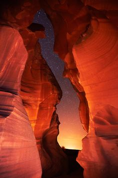 Evening in the Antelope Slot Canyons by Rick Rose
