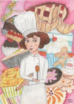 pastry. Josefina Schargorodsky.2013. josefinen.tumblr.com
