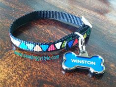 Sew DoggyStyle: DIY Painted Dog Collar