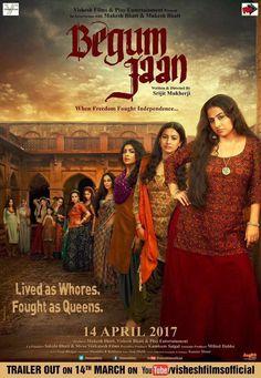 Begum Jaan - Hindi movie screening in Australia (Sydney, Melbourne, Adelaide, Perth, Brisbane, Canberra) - Session Times