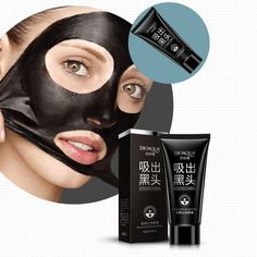 Face Care Suction Black Head Remove Black Mask Facial Mask Nose Blackhead Remover Peeling Peel Off Black Head Acne Treatments 35