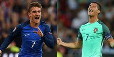 El domingo se enfrentarán liderando a sus selecciones hacia la conquista de Europa. Griezmann y Cristiano, otra vez frente a frente.