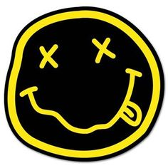 1b2d0ce6606 NIRVANA smiley rock band Vynil Car Sticker Decal - Select Size