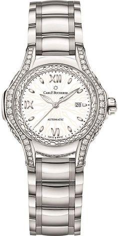 30be64b87f7d CARL F BUCHERER 00.10580.08.25.31.01 Pathos Diva mother-of-pearl diamonds  and sapphire crystal watch