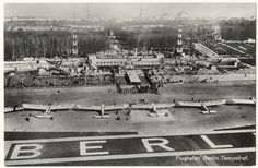 Berlin 1928 Flughafen Berlin-Tempelhof