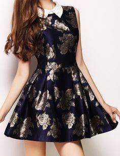 Floral Printed Shirt Dress - Glitzx