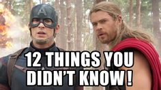 12 Things You Didn't Know About Avengers Age of Ultron