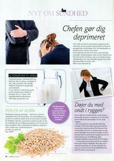 Juli 2014 - Ugebladet Søndag bringer Danish Skin Cares råd om at droppe komælk
