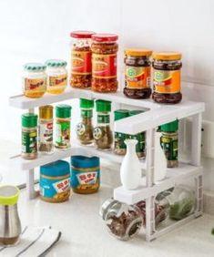 Pure Home Beeswax Polish - Neulons.com Spice Rack Organiser, Organizer, Storage Rack, Kitchen Cabinet Organization, Kitchen Cabinets, Organization Ideas, Stackable Shelves, Spice Shelf, Beeswax Polish