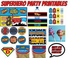 Ultimate Superhero party games and ideas REDONE: http://pintrestchallenge.blogspot.com/2013/08/super-hero-party.html